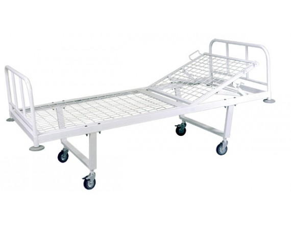 Кровать общебольничная на колесах МСК-101
