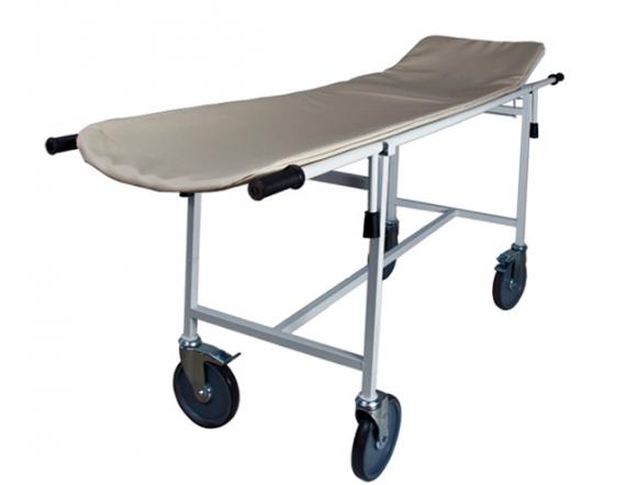 Тележка для перевозки больных с подголовником и носилками