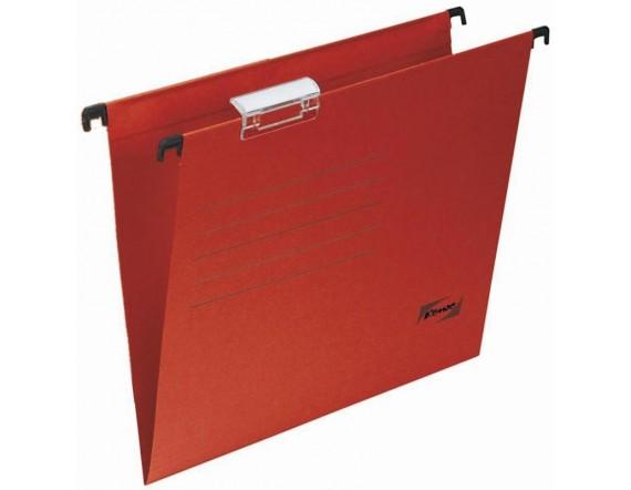 Подвесная папка А4 до 200 листов красная