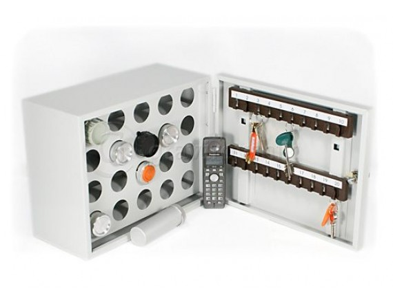 Шкаф для тубусов и ключей КЛ-20П