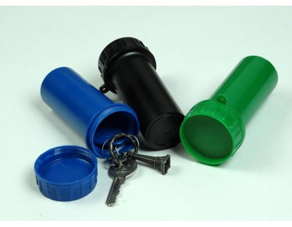 Тубус для ключей пластиковый (110 х 40 мм) синий