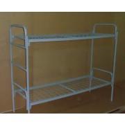 Кровать металлическая двухъярусная усиленная