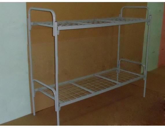 Кровать мет. двухъярусная двойное усиление