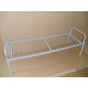 Кровать металлическая односпальная усиленная