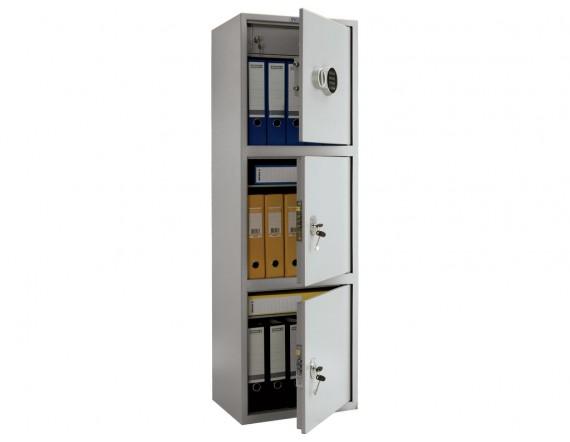 Бухгалтерский шкаф ПРАКТИК SL-150/3Т EL